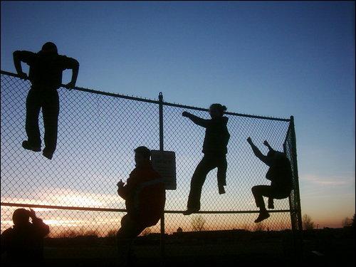 Don't get fenced in before you're ready!!