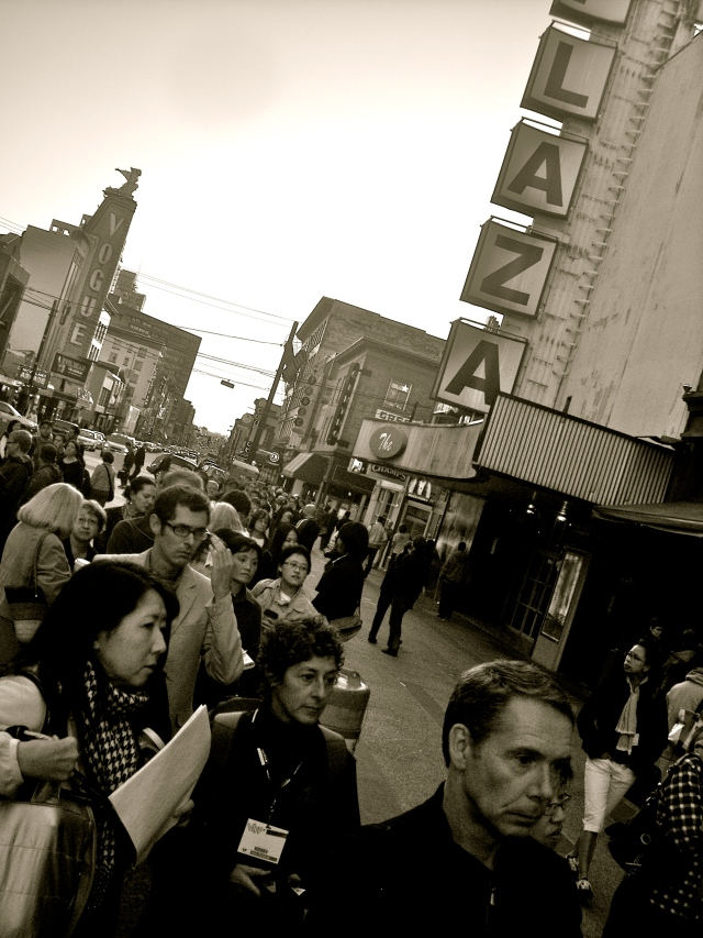 The line up for the 2009 Vancouver International Film Festival