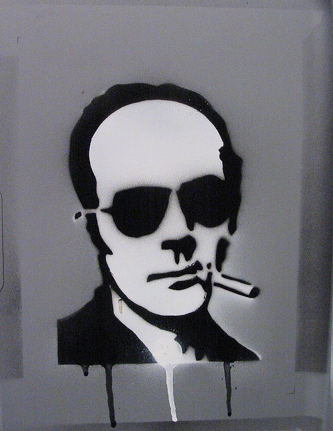 Hunter S Thompson By 1f2frfbf On Flickr